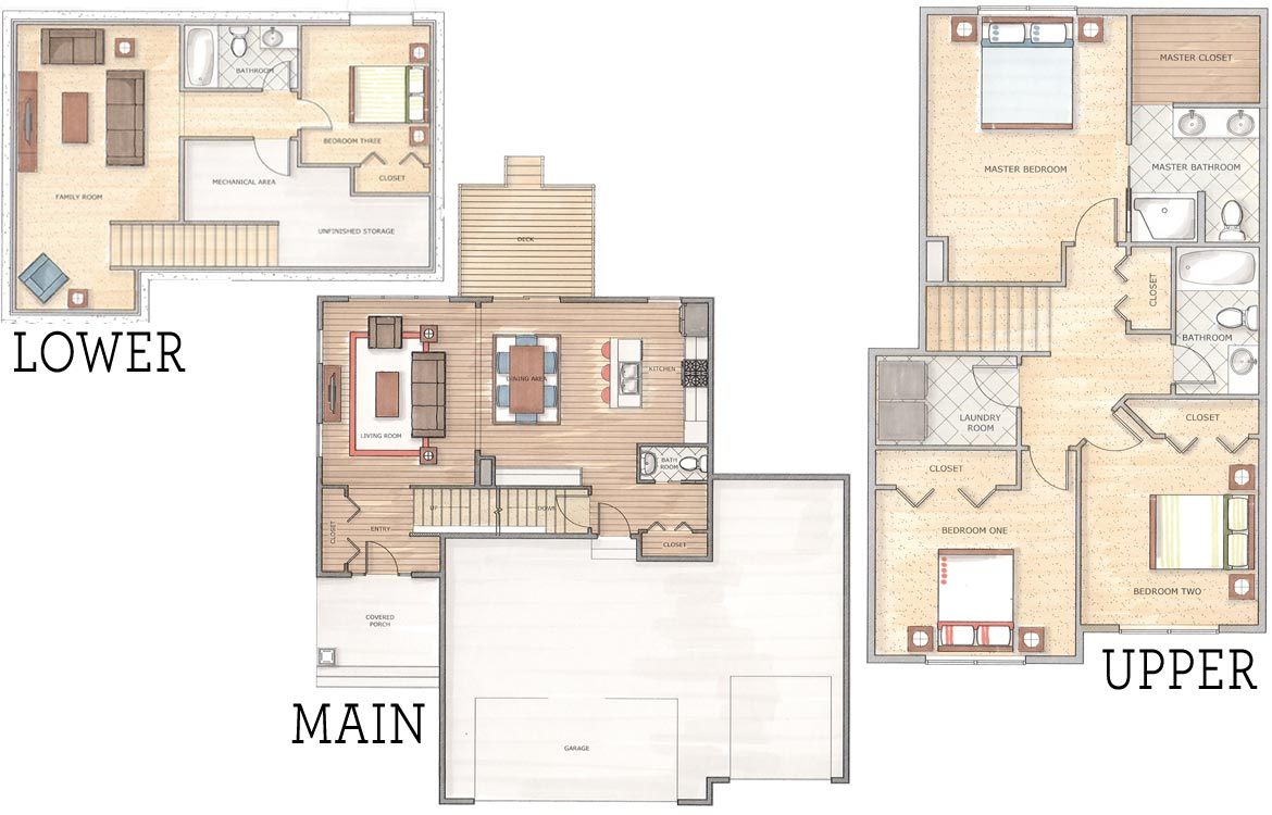arthur floor plan panther builders