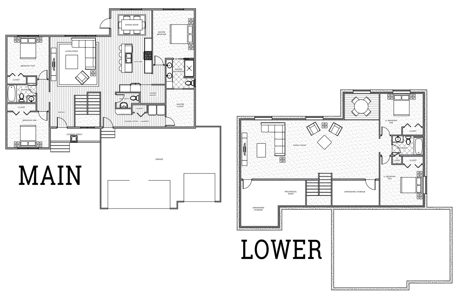 washington floor plan panther builders